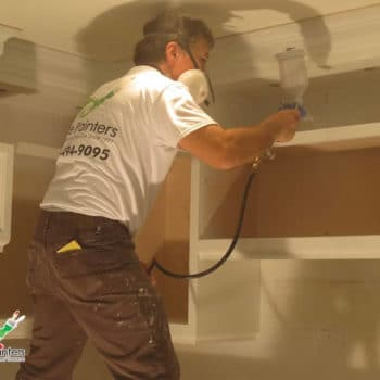 Spray Painting Kitchen Cabinets Concord North York