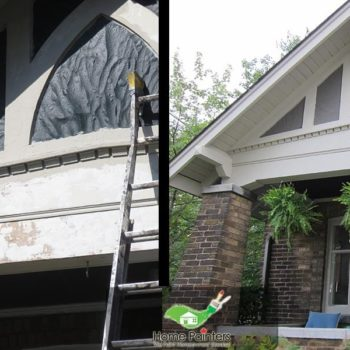 Victorian House Exterior Professional Painting Service Richmond Hill Downtown