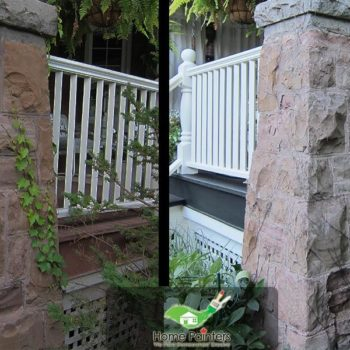 exterior curb appeal increase porch painting concord aurora